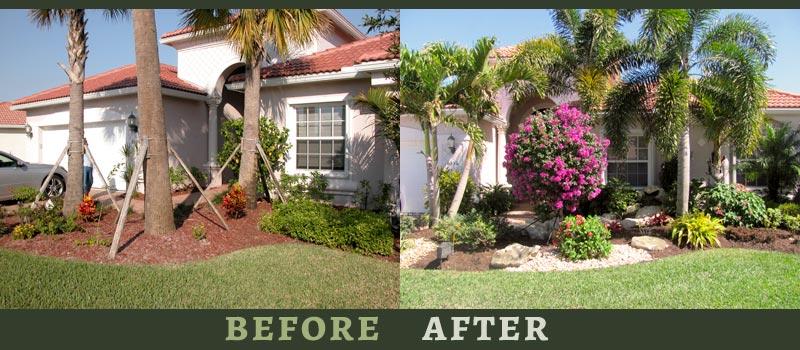 florida landscape design ideas courtyard features construction - Florida Landscape Design Ideas